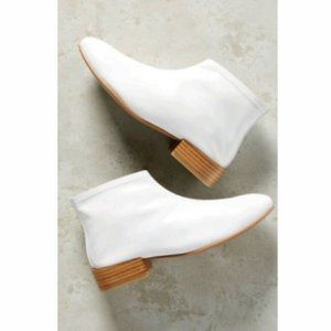 Jeffrey Campbell White Tiberius Ankle Booties